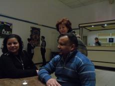 Denis, Iris y Mariastella