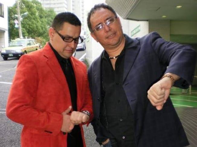 Carlos Umañan y Guillermo Anderson